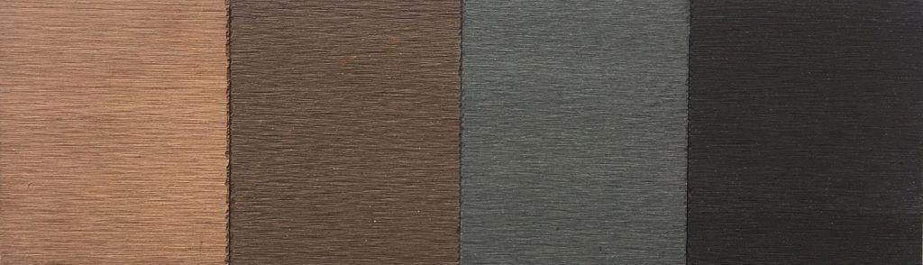 colori composito WPC bamboo MARRONI GRIGI