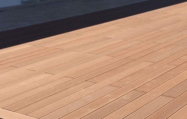 Tavole wpc bamboo oltre mq per esterni u pavimenti wpc