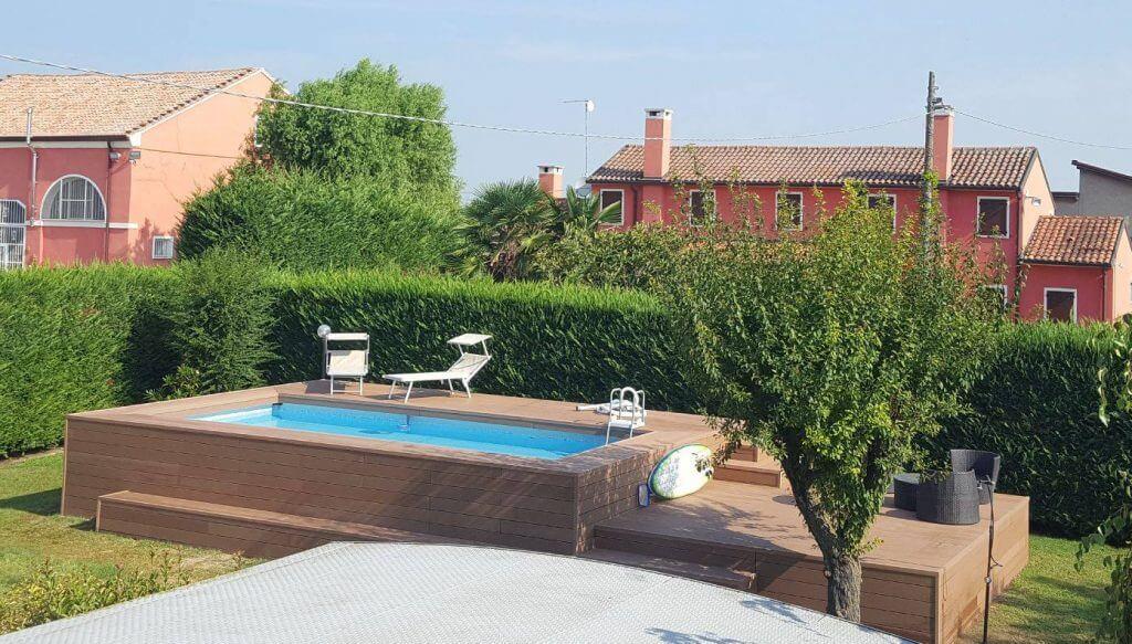 Pavimenti esterni bordo piscina terrazze wpc