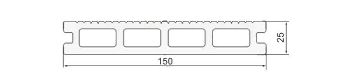 misure tavola singola wpc