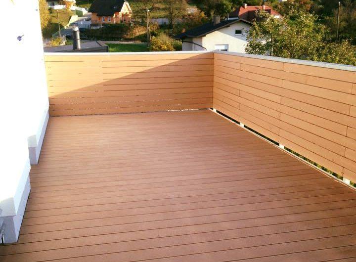 pavimenti esterni terrazze decking composito WPC bamboo