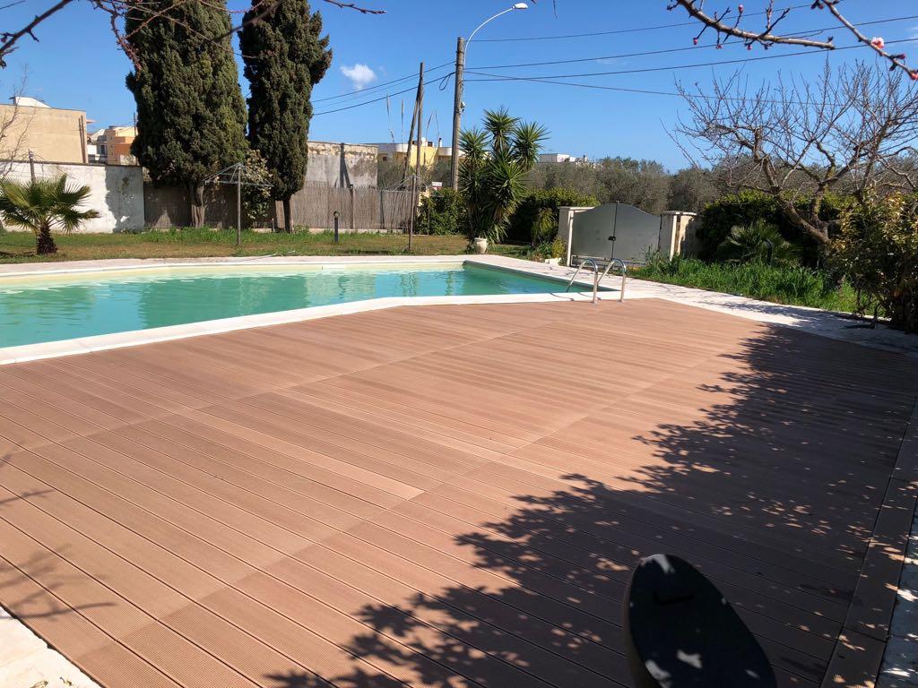 Pavimenti esterni bordo piscina terrazze