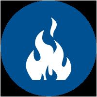 decking WPC resistente al fuoco