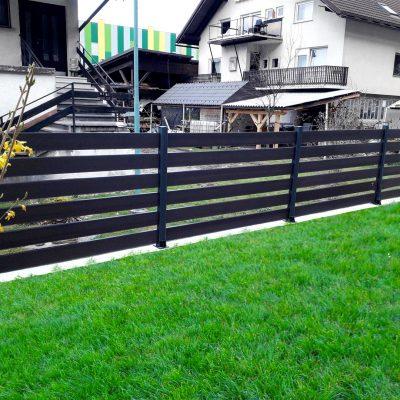 staccionata recinzione WPC