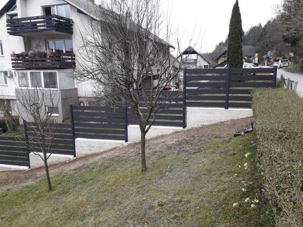 staccionata recinzione