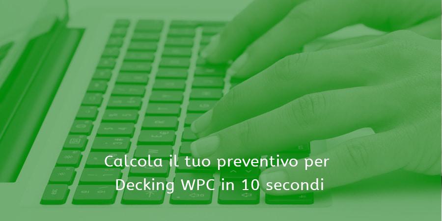 Calcola preventivo decking WPC