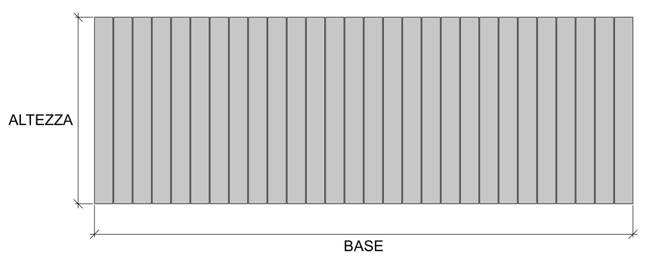 base altezza calcolo WPC